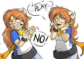 OC - Lets Play by deeum