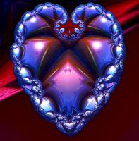 Heart Fractal by heyday93