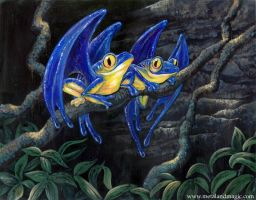 Hyacinth Macawfrogs by ursulav