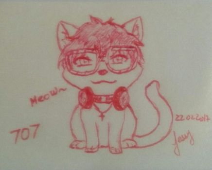 707 Cat by amyrose7