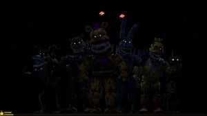[SFM FNaF 4K] The Nightmare Gang by AwesomeSuperSonic
