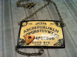 Ouija Board Necklace by KatGore