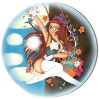Thirty Fifth DColor - Spring Maiden Orb by LordNobleheart
