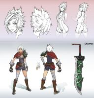 Riven Redesign - League of Legends by Unsomnus