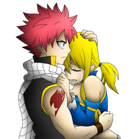 Fairy Tail: Natsu and Lucy by Evilash-Zutara-17