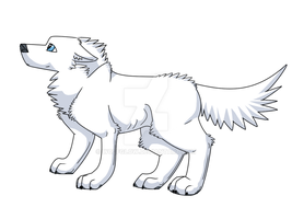 White Wolf by WolfGlow
