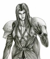 Advent Children Sephiroth by godaiking