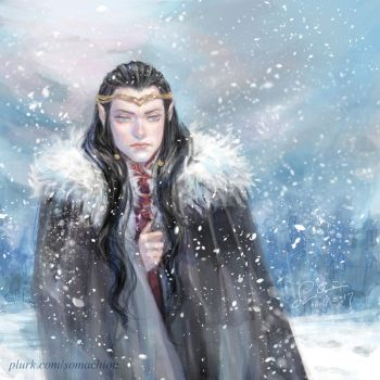 Elrond - Winter is Coming by somachiou