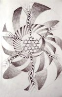 Yantra Whirl by OneLifeOneArt