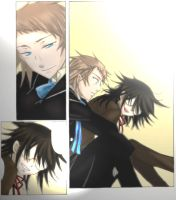 Pandora Hearts Eliot and Leo by ShionMion