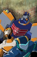 Transformers Animated Issue 6 by TheBoo