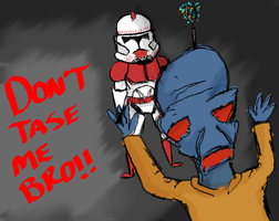 Don't tase me bro by Coricle