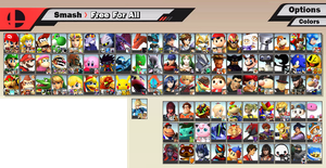 Super Smash Bros. 5 - Fake Roster by S-Yaridovich9X