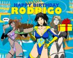 Happy Birthday Art Rodrigo by edwardrigaud