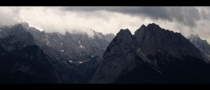 Mountains Garmisch by skywalkerdesign