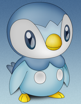 Piplup .psd by iAndrew