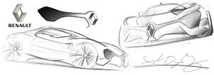 Renault MR Sketch by dyrborgdesign