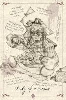 Study of a Gnome at work by MAReiach