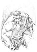 Hulk Pencils by stokesbook
