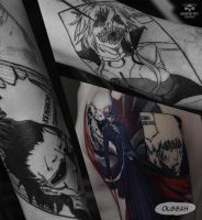 Bleach sleeve beginning by Olggah