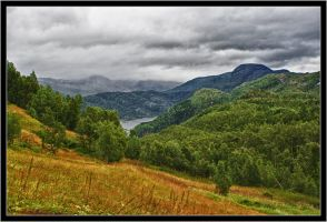 View from Crofter's cottage in Kjelvik by spider-inge