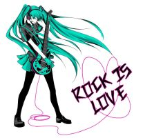 Vocaloid: ROCK IS WAR by kirui