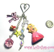 Princess Peach Large KeyChain by loligirls