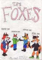The Foxes by paavokunkel24