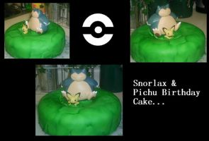Wild Pokemon Cake Appeared by Kage-Shugo