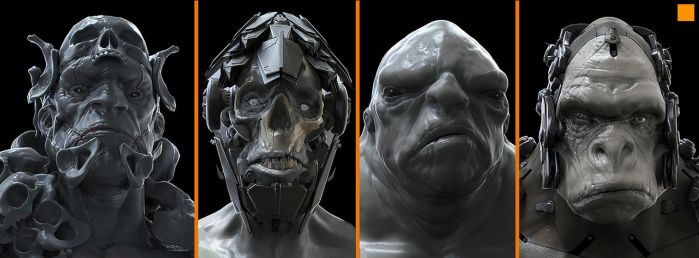 Zbrush Mugs 2 by fightpunch