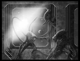 Aliens by Funerium