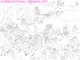 International Women's  Day Foot Fetish by amyroseater