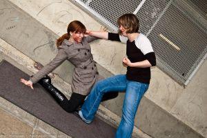 A Study in Fake Violence by Angel-Platypus-Photo