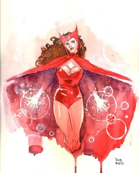 Scarlet Witch commission by RodReis