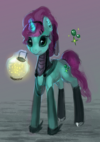 MLP pony witch auction 50 CLOSED by ElkaArt