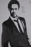 Robert Downey Jr. by Monstrenga-Do-Lago