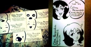 Business Cards by ChibiCelina