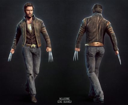 Wolverine front/back by genci