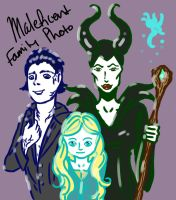 Maleficent's Family Photo by Angelkaat