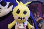WIP: Toy Chica FNAF2 front by Sylabus
