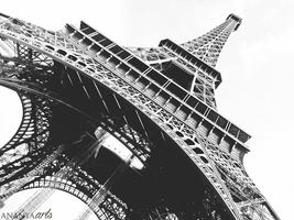 Eiffel Tower by AnanyaArts