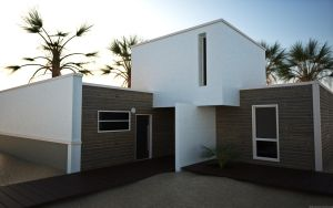 3D beach house by 3DEricDesign