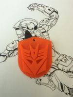 Decepticon Dogtag by gigglesalot