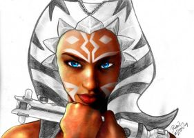 Ahsoka skinned WIP by channandeller