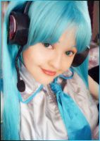 My Cosplay HATSUNE MIKU Feb09 by sakumisty