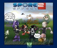 Spore Effect 2 by XPator