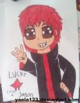 Lucky Star Sasori by yaela123