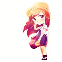 Chibi My Friend in the sunshine :D by C3nmt