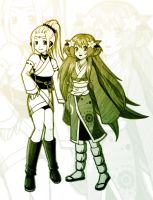 Yellow and Green by leinef