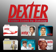 Dexter folder icons by Dakaap